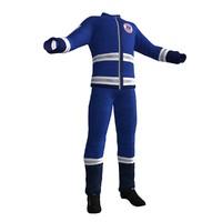 paramedic uniform 3D models