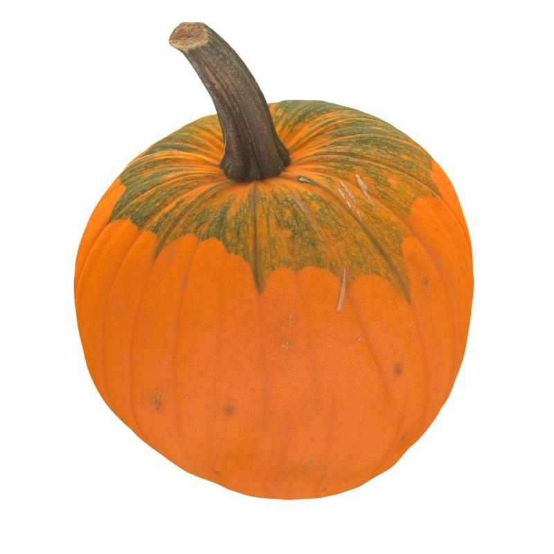 3d pumpkin scan