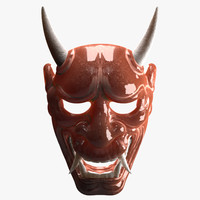 theater mask 3D models