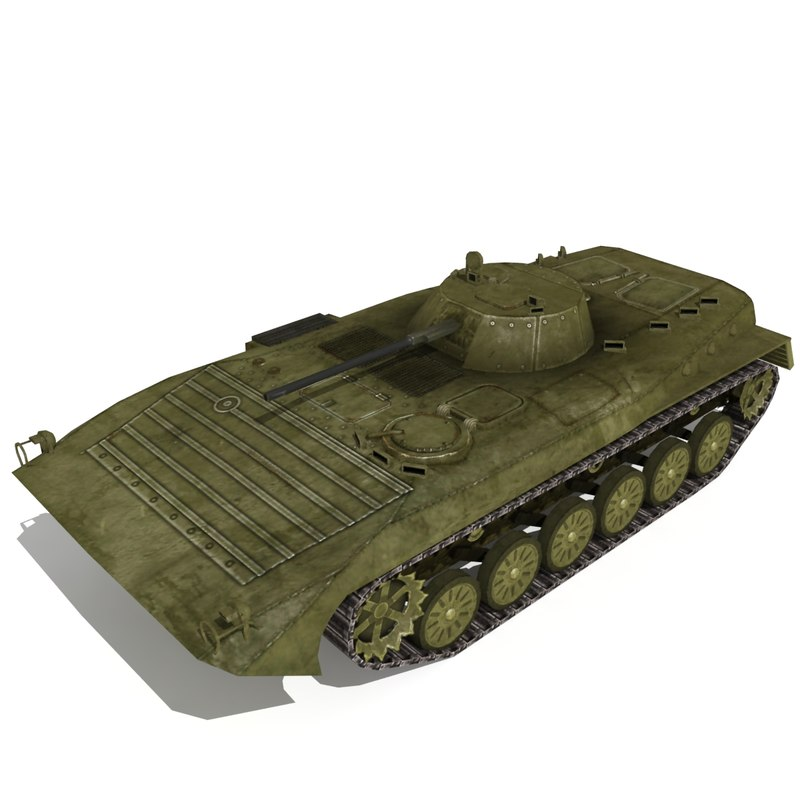 BMP 2 IFV Low Poly