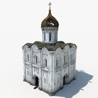 russian orthodox church 3D models