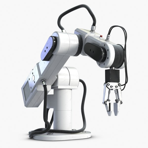 Laboratory Robot Manipulator 3D Models