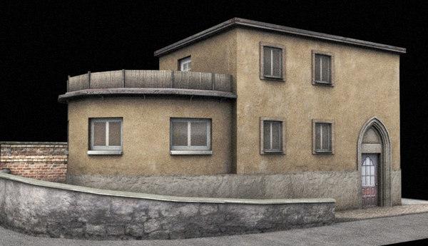 old villa 3D Models