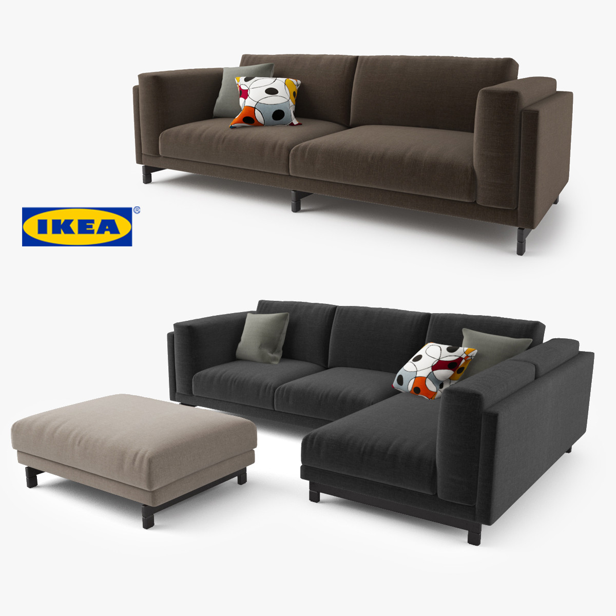 zweisitzer sofa ikea nockeby loveseat 28 images 3d model ikea nockeby series sofa 3d model. Black Bedroom Furniture Sets. Home Design Ideas