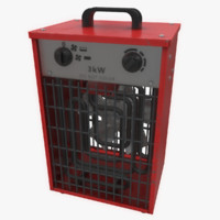 space heater 3D models
