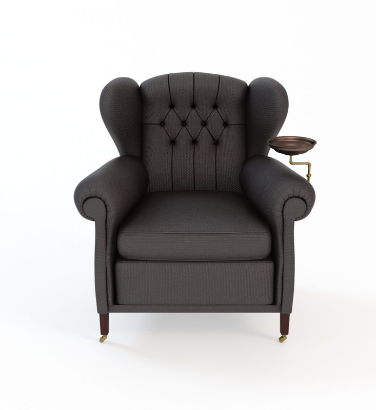 Searched 3d models for Poltrona Frau Vanity Fair Armchair