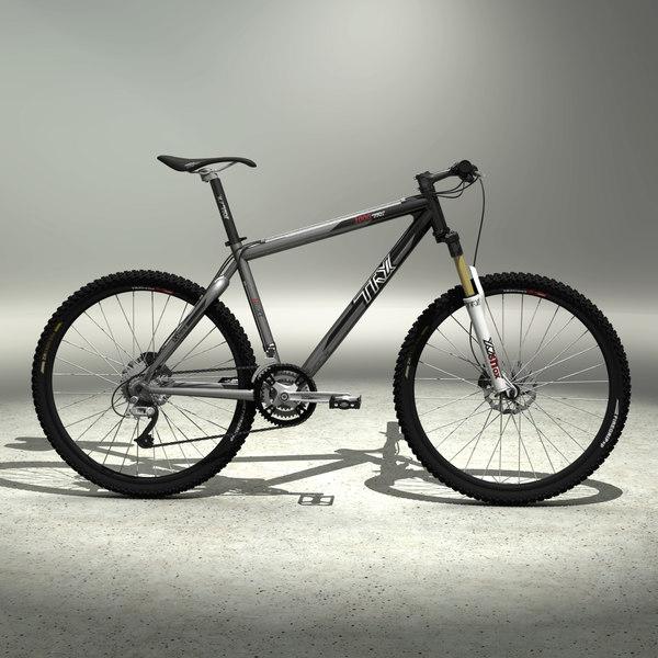 Mountain Bike Hardtail 3D Models