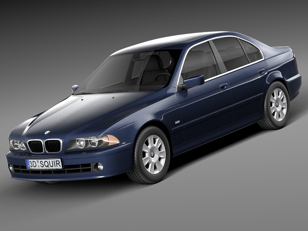 BMW 5-series e39 sedan 2001