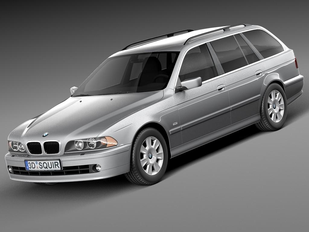 BMW 5-series e39 touring 2001