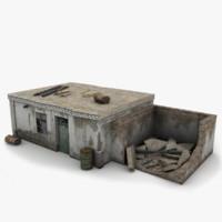 shack 3D models