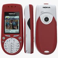 Nokia 3660 3D models