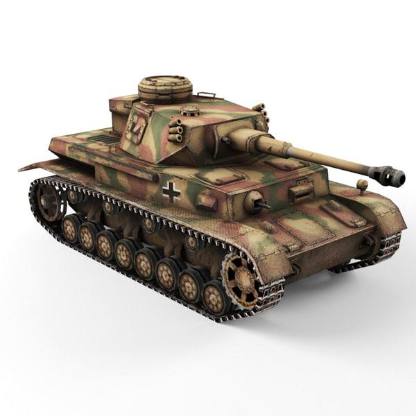 Pz 4G 3D Models