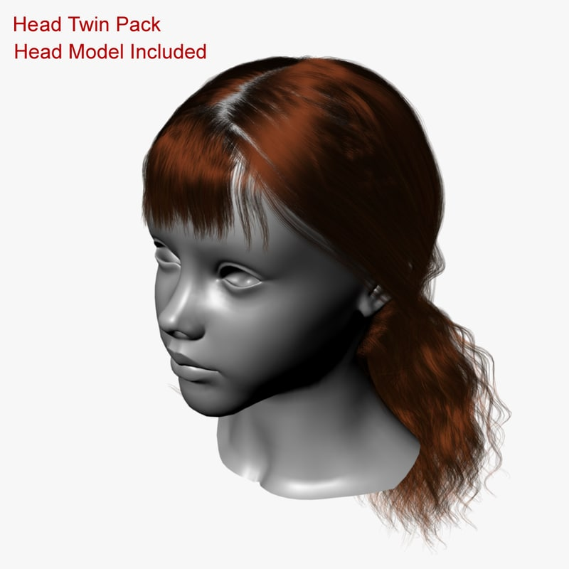 style head 3d ma