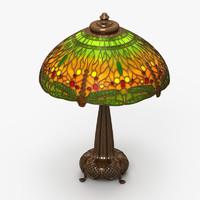 Tiffany Lamp 3D models