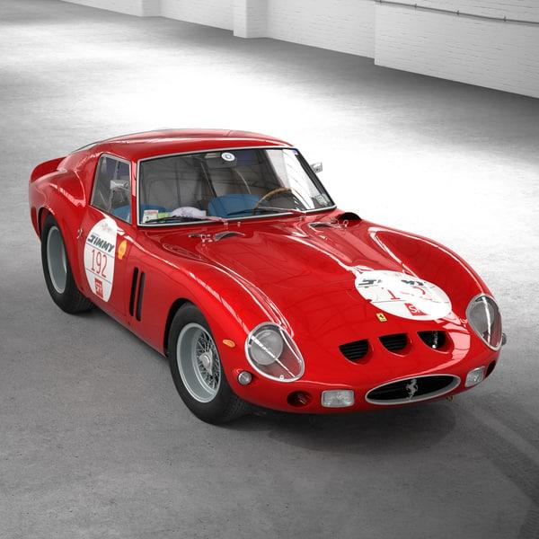 Ferrari 250 GTO 5111GT (no engine) 3D Models