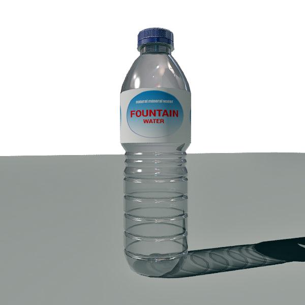 Zephyrhills Sports Bottle: 3d Water Bottle Garrafa