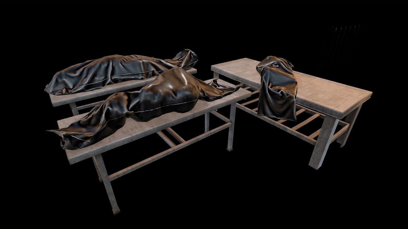 Corpses Pack LowPoly