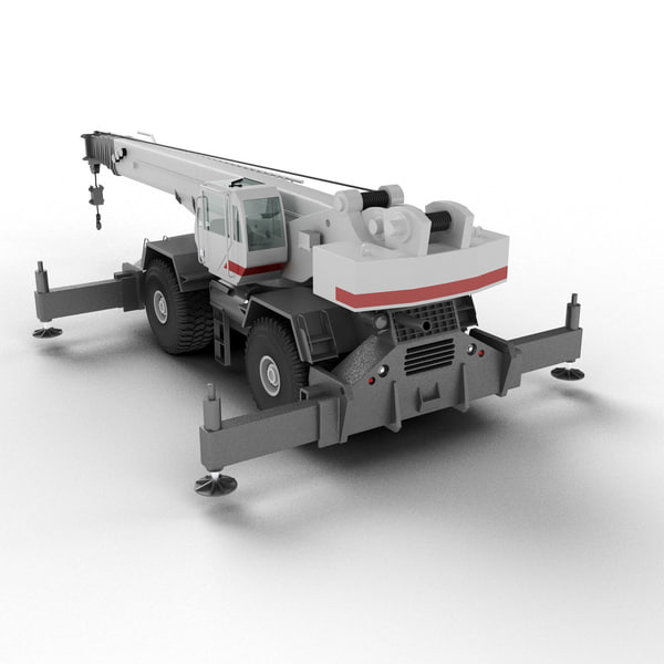 Rough Terrain Crane Texture Maps