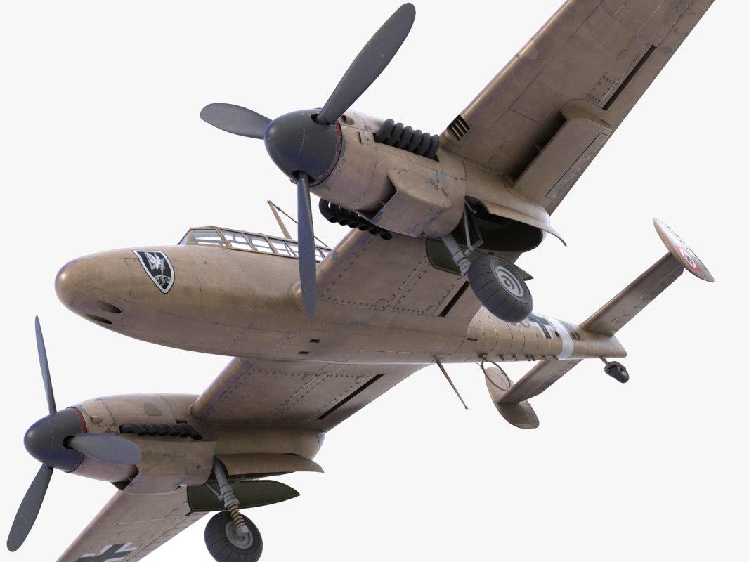 BF-110 German bomber