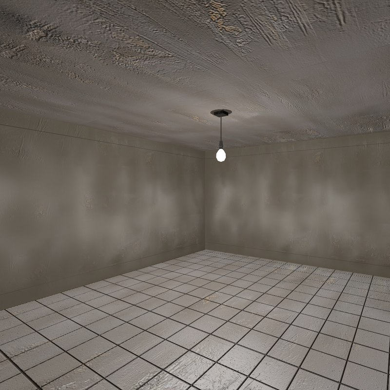 Low Poly Dirty Room