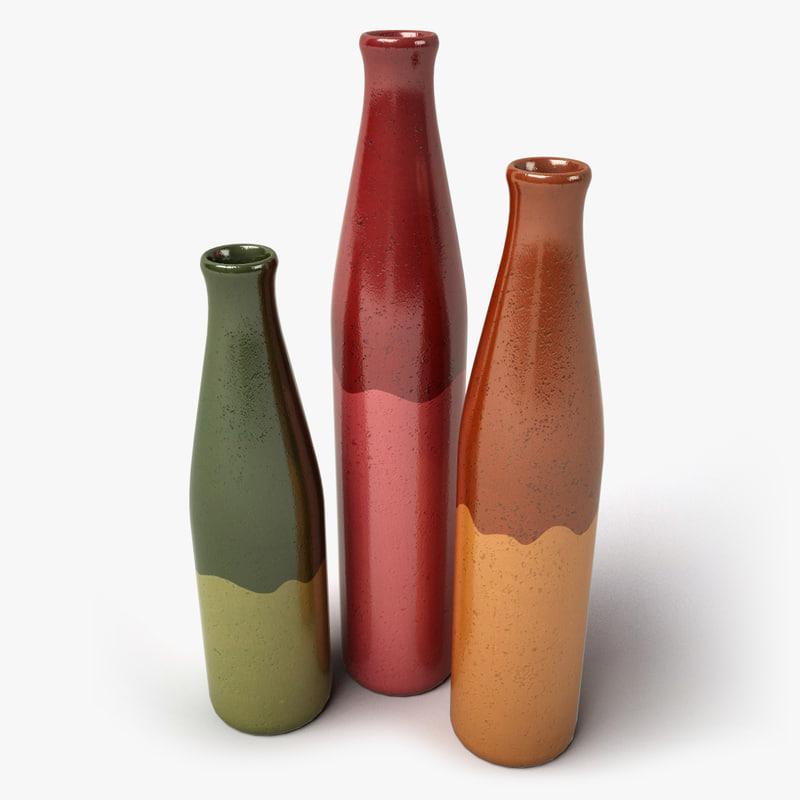 3d model design vases. Black Bedroom Furniture Sets. Home Design Ideas
