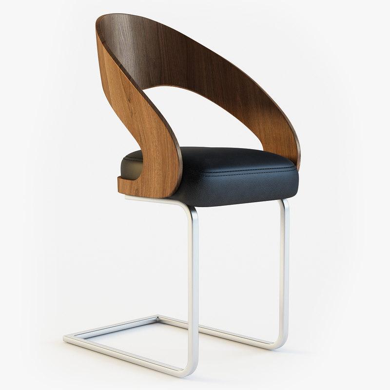 Chaise moderne lola chair max for Chaise quadriceps