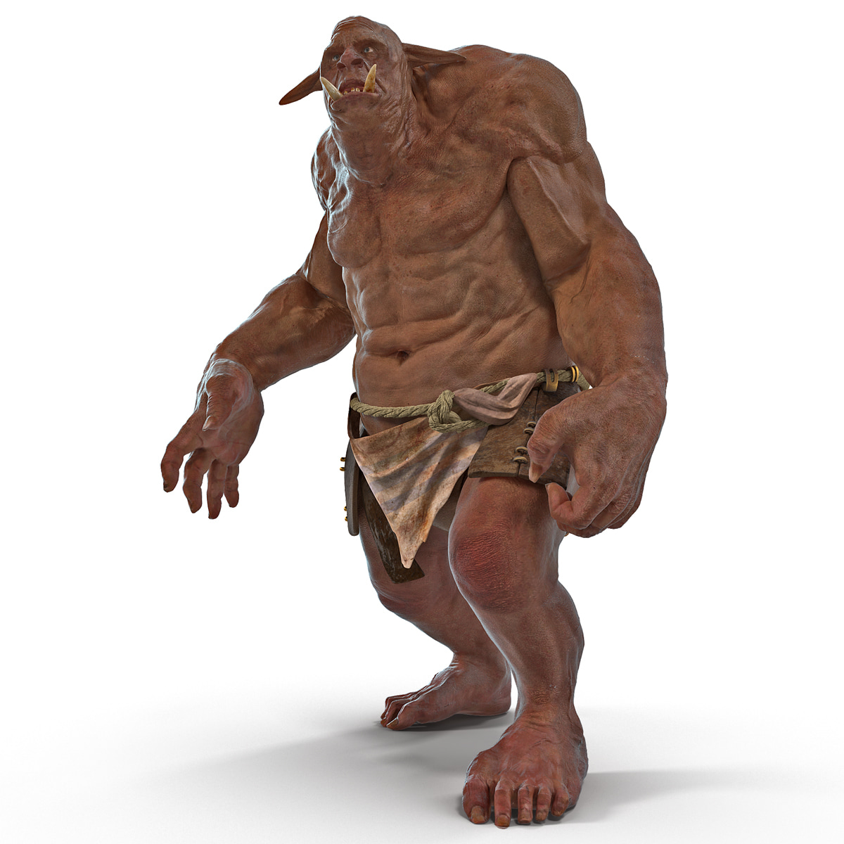 Cave Troll Rigged
