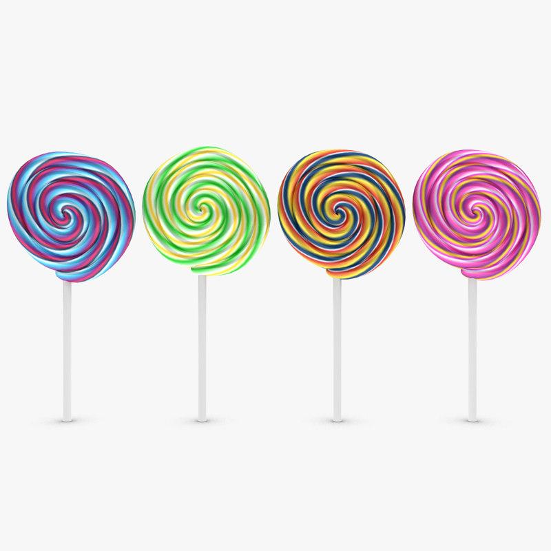 Lollipop 4 Colors