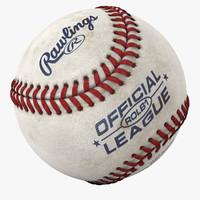 baseball 3d models