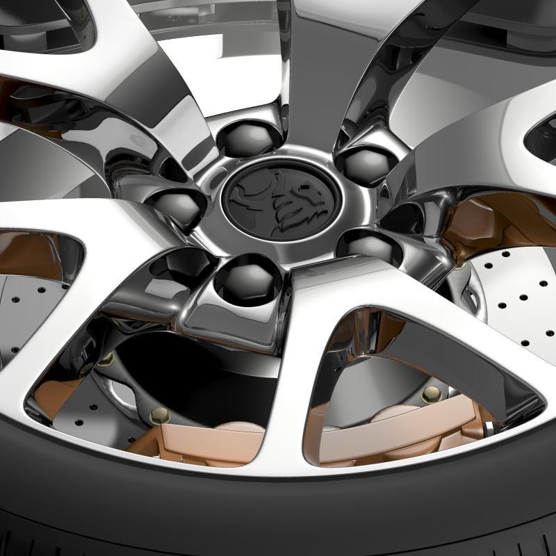 Holden Insignia VXR wheel