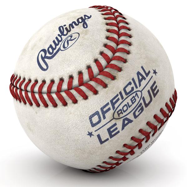 Baseball Texture Maps