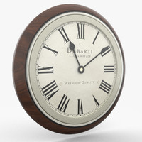 wall clock 3D models