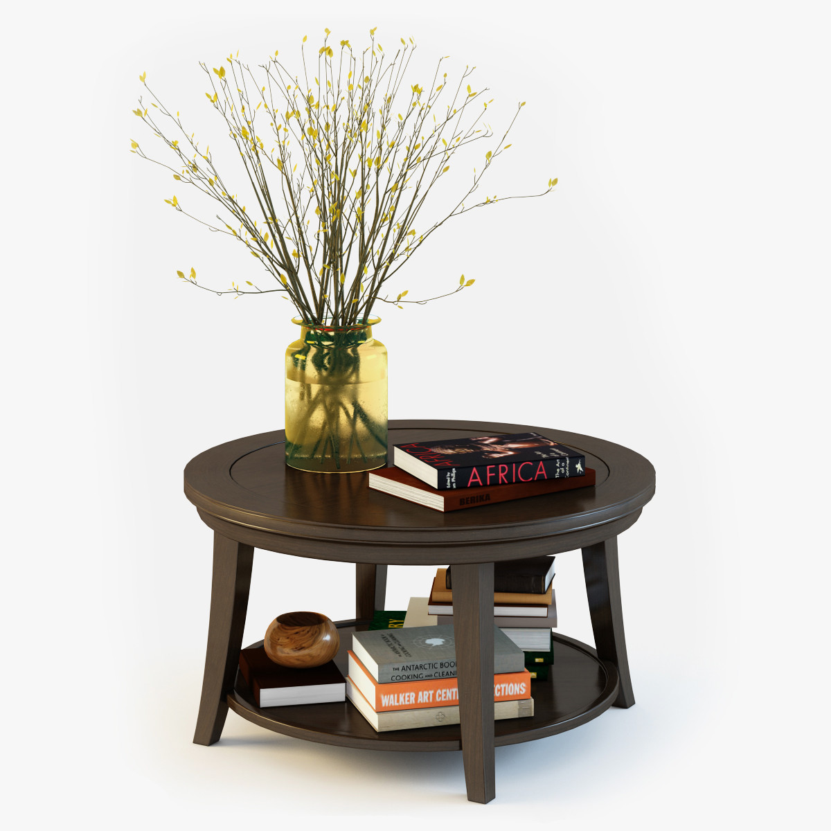 Pottery Barn Metropolitan Coffee Table 3d Obj