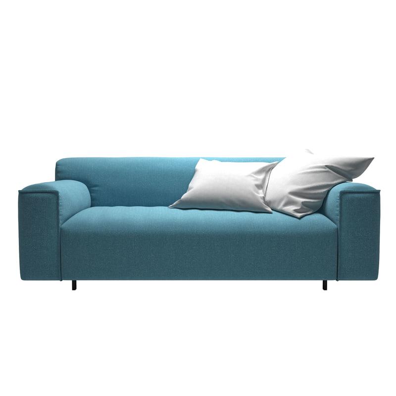 rolf benz sofa 3d model. Black Bedroom Furniture Sets. Home Design Ideas