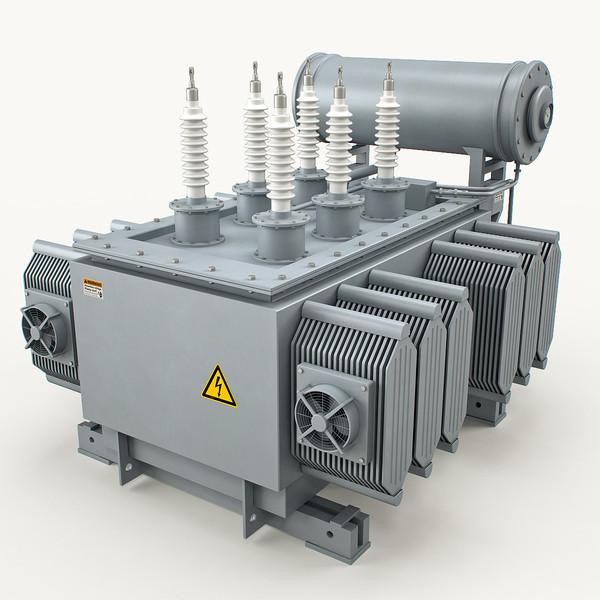Power Transformer 3D Models