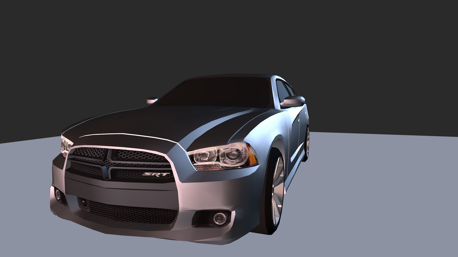 Dodge Charger SRT8 LowPoly