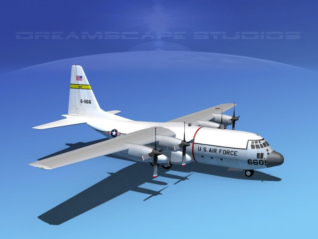 Lockheed C-130 Hercules V02 USAF