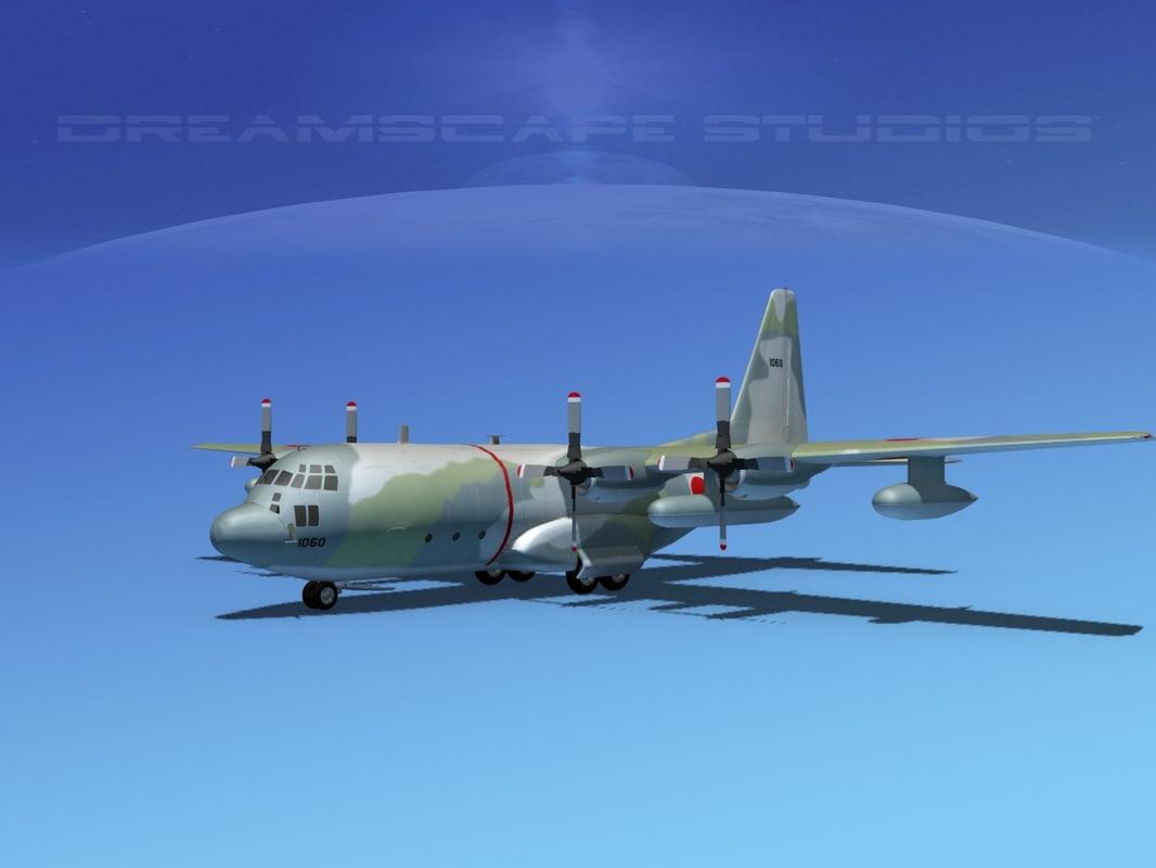 Lockheed C-130 Hercules V13 Japan