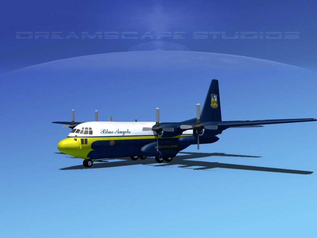 Lockheed C-130 Hercules Blue Angels