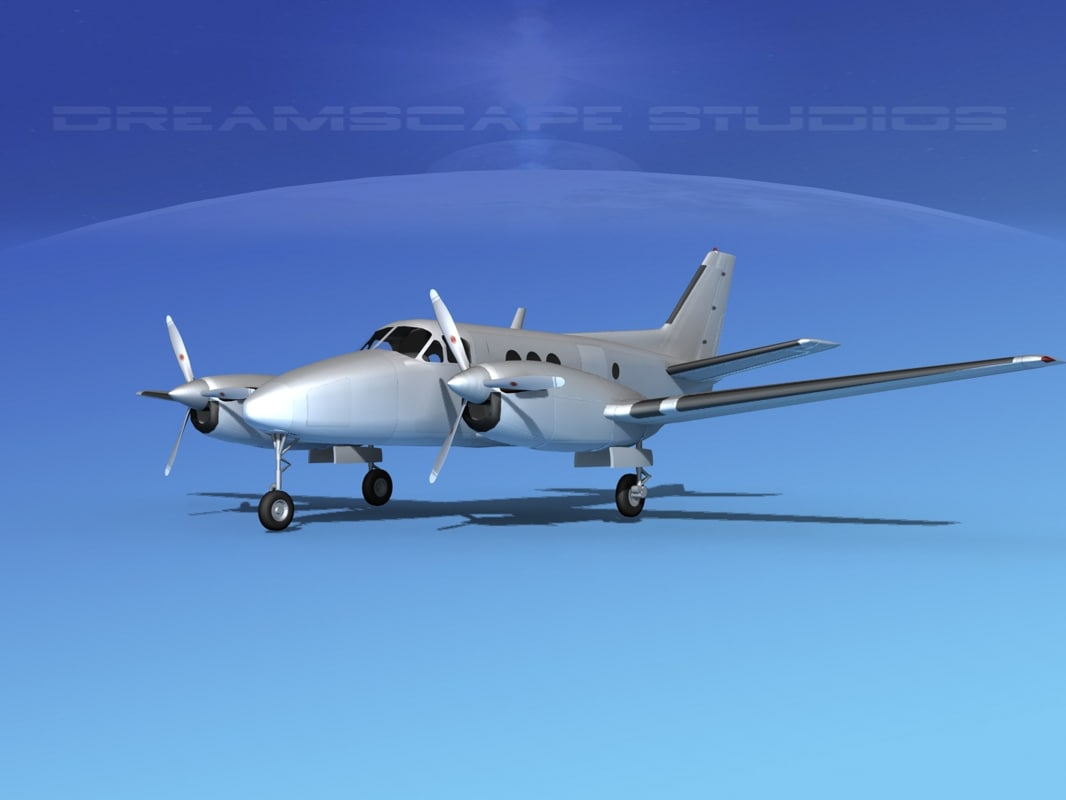 Beechcraft C-6 Transport Bare Metal