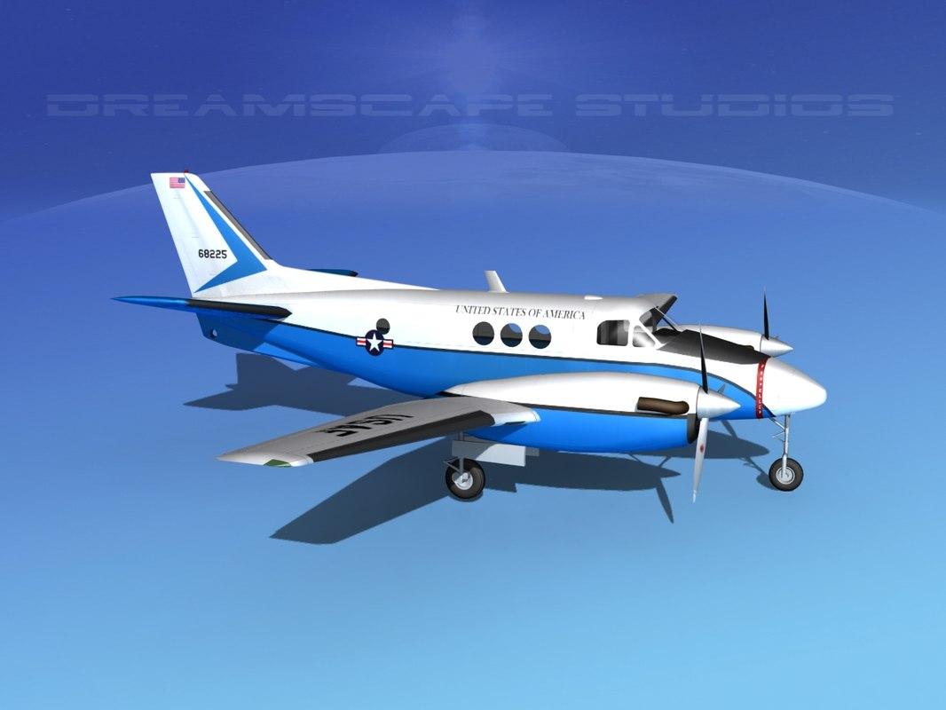 Beechcraft C-6 Transport USAF