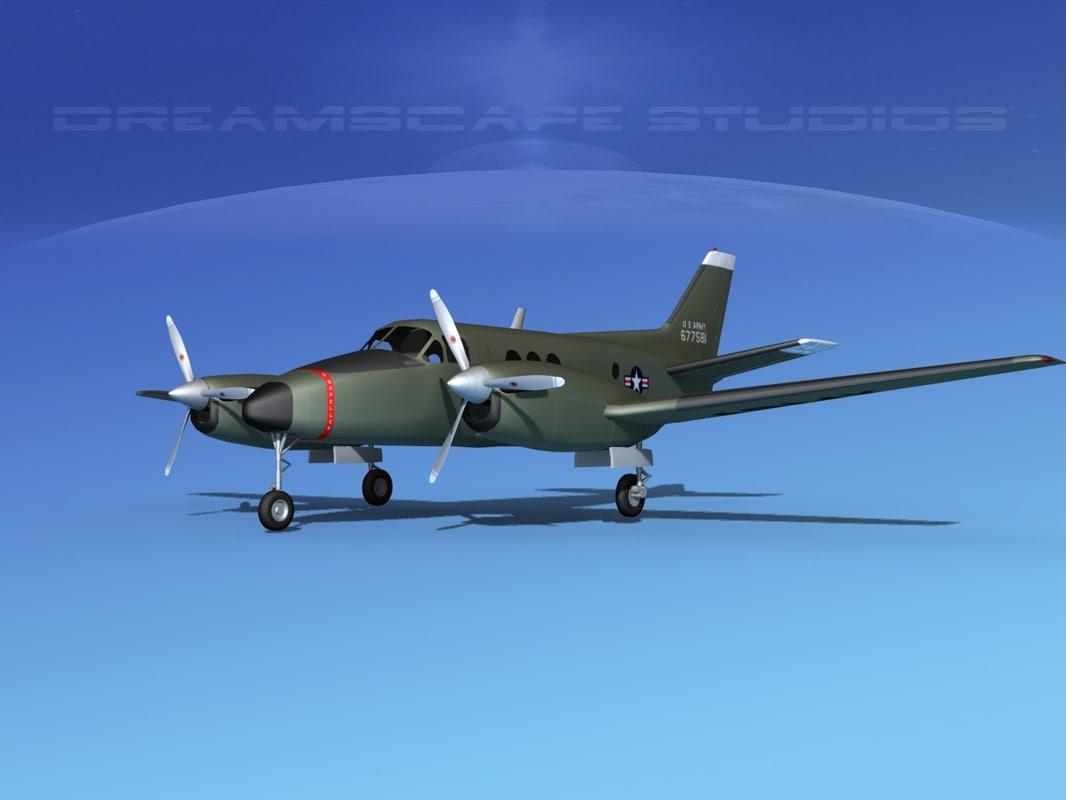 Beechcraft C-6 Transport V06 US Army