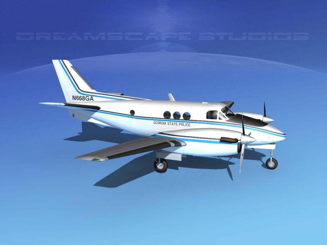 Beechcraft C-6 Transport Police