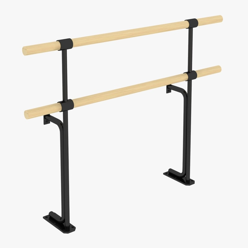 Ballet Barres Fixed Systems 3d 3ds
