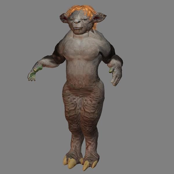 3ds max goblin