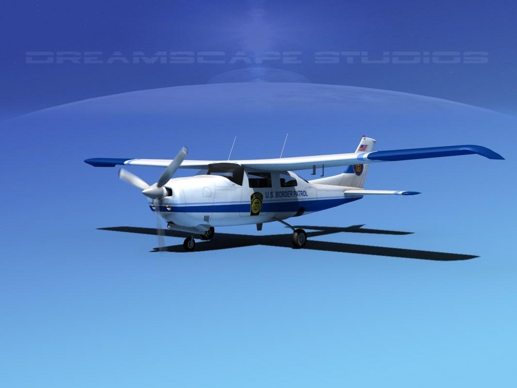 Cessna 210 Centurion US Boarder Patrol