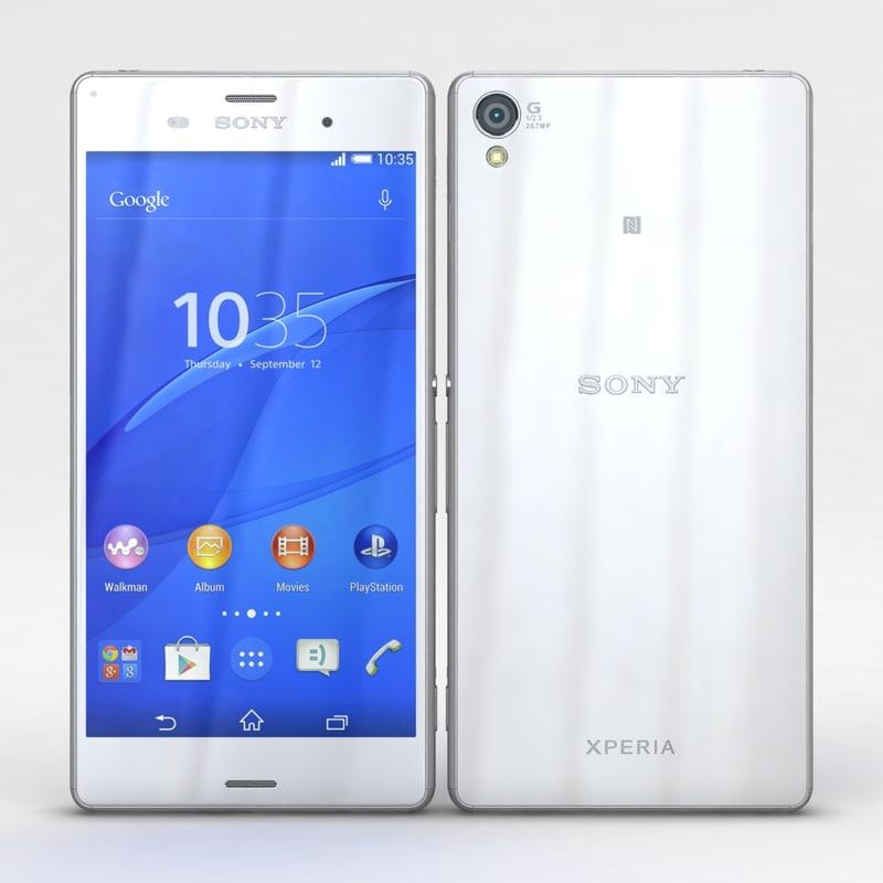 Sony Xperia Z3 & Z3 Dual White