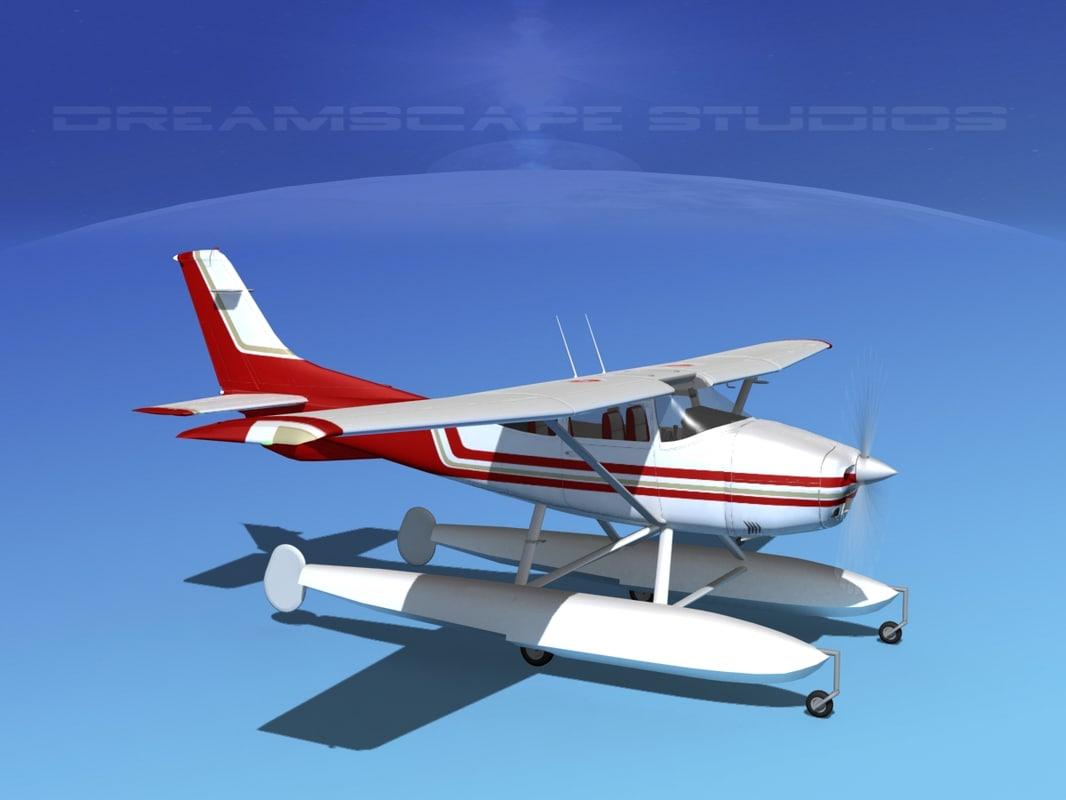 Cessna 182 Skylane SeaplaneV02