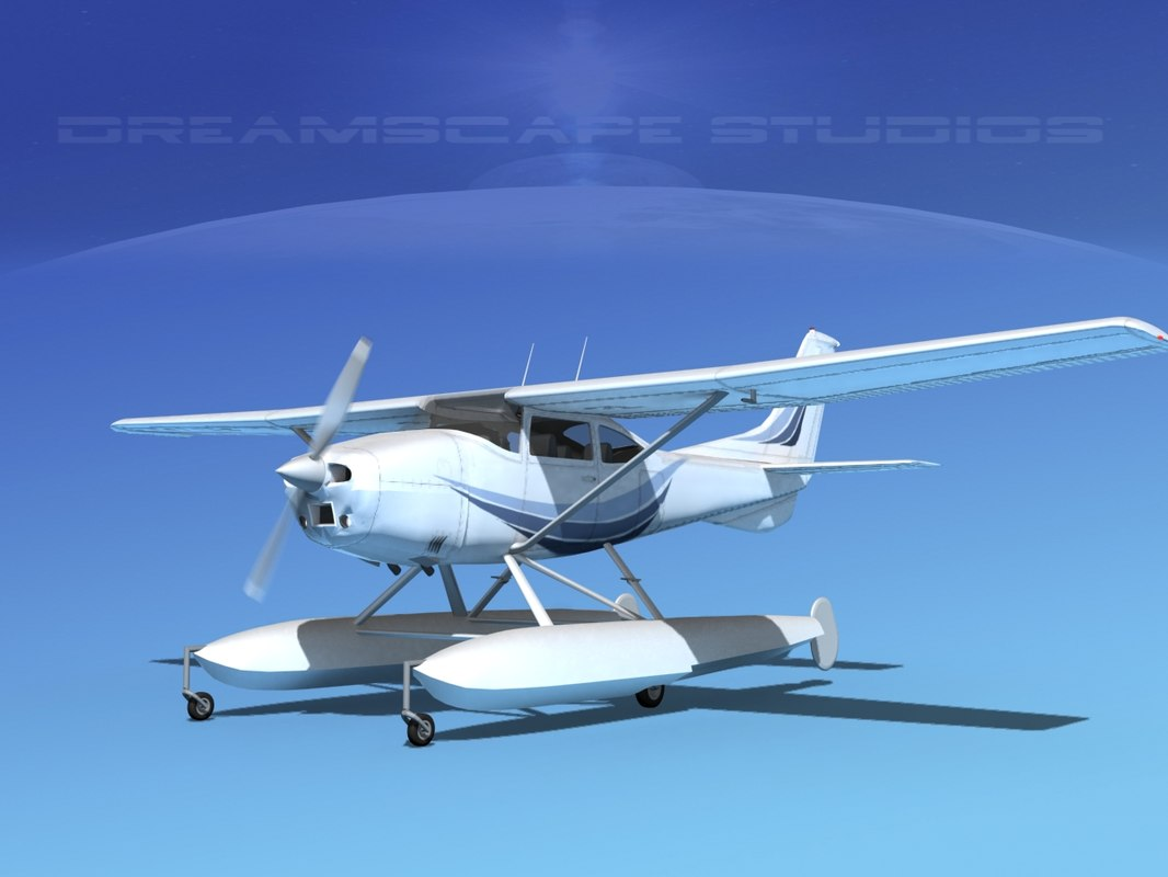 Cessna C-182 Skylane Seaplane TS050001.jpg