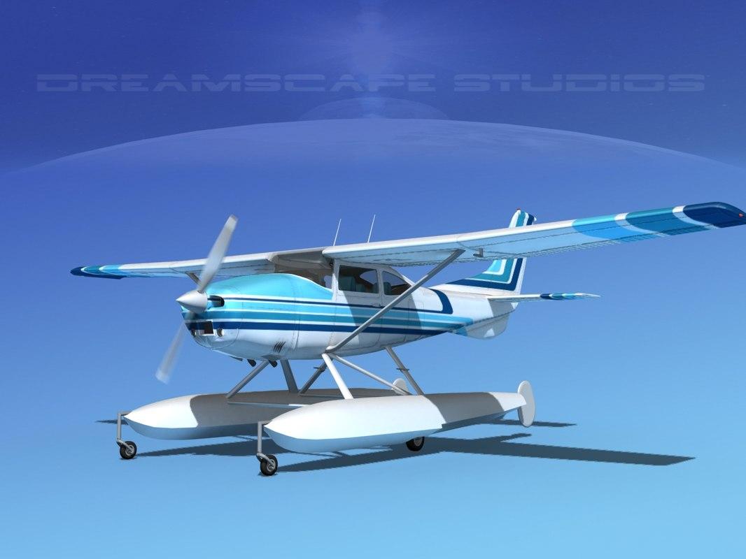 Cessna C-182 Skylane Seaplane TS100001.jpg